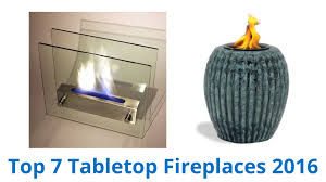 7 best tabletop fireplaces 2016 youtube
