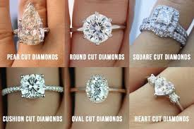 diamond ring cuts types of diamond cuts for your