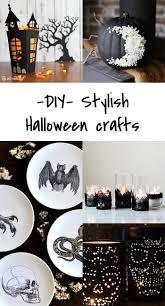 Halloween Crafts Diy 5 Diy To Try Stylish Halloween Crafts Ohoh Blog