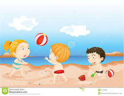free beach clipart for kids collection