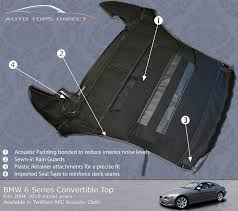 bmw z3 convertible top cover bmw 6 series convertible tops e64 convertible top