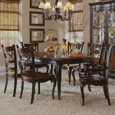 hooker furniture preston ridge 7 piece oval dining set with