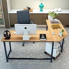 modern l shaped office desk office l shaped desk tribesigns modern l shaped desk u shaped office