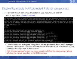Db2 Database Administrator Ibm Tivoli System Automation For Multiplatforms V Ppt Download