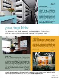 habitat of the week website u0027s most visited features