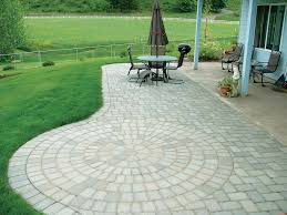 Patio Paver Designs Concrete Paver Patio Ideas With Gravel Border Paver Patios Paver