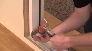 Exterior Door Threshold Replacement by How To Adjust The Threshold To An Exterior Door Youtube