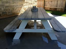 How Do I Build A Wooden Picnic Table by Best 25 Wooden Picnic Tables Ideas On Pinterest Kids Wooden