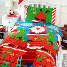 Christmas Duvet Cover Sets Bed U0026 Bath Christmas Santa Duvet Cover Set