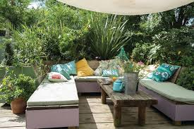 Deck Coffee Table - outdoor seating deck eclectic with u shaped bench garden bench