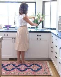 kitchen carpeting ideas kitchen carpets and rugs a painter and dash rug a kitchen update