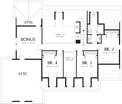 colonial style house plan 4 beds 2 50 baths 2561 sq ft plan 48 106