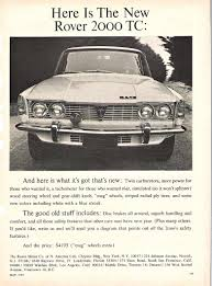 historical rover advertisements