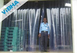 Strip Curtain Roll Pvc Strip Curtains Industrial Pvc Doors Dividers Chennai India