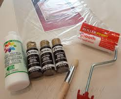 Painting Fabric Curtains Diy Stenciled Curtains And A Giveaway From Cutting Edge Stencils