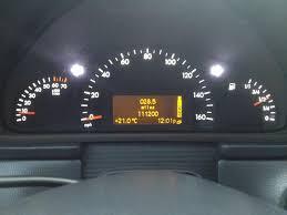 Led Cluster Lights Speedometer Instrument Cluster Light Change Mercedes Benz Forum