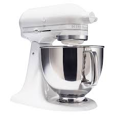 Kitchenaid Mixer On Sale by Kitchenaid Ksm150psww Artisan Series White On White 5 Quart Stand