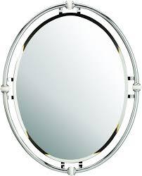 Kichler Bathroom Mirrors Kichler 41067ch Chrome Pocelona Oval Mirror 30 X 24