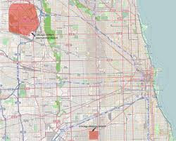 Chicago Midway Map by File Map Situation Of Chicago Airports Svg Wikimedia Commons
