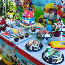 Candy Buffet For Parties by Candy Table For A Party Paw Patrol Inspired Elijah U0027s Paw Patrol