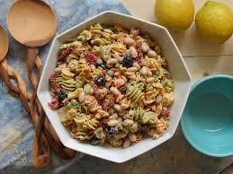 creamy mediterranean pasta salad stephie cooks