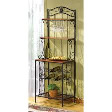 Big Lots Bakers Rack Amazon Com Verdugo Gift Bakers Style Wine U0026 Glass Rack