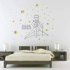 stickers étoiles chambre bébé collection décoration chambre d enfants le petit prince paristic