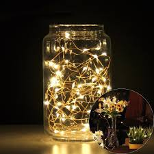 Battery Operated Light Strings by Kohree 60leds String Lights With Remote Control Aa Battery