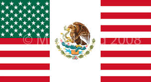 mixed usa and mexico flag t shirt designs