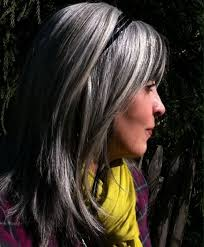 hair highlights and lowlights for older women gray long bob with layers older women hair gray and beautiful