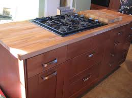 diy cherry wood butcher block countertops for dark cabinets with