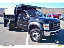 ford f550 for sale 2008 ford f550 duty xl regular cab 4x4 dump truck in black