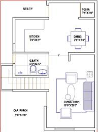 ordinary indian house plan for 800 sq ft 3 g9 spacious ground