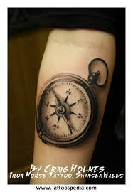 tattoo compass realistic ancient compass realistic tattoo on arm tattooshunt com