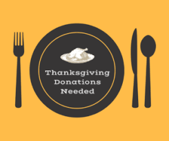 food items needed for soup kitchen thanksgiving meal lehigh