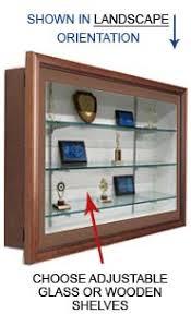 designer shelves swingframe designer wood frame shadow box 4 deep glass shelves