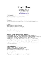 Student Teaching Resume Examples by Teaching Resume