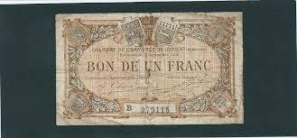chambre de commerce de lorient billet chambre de commerce de lorient de 1 franc 3 septembre 1915 ebay