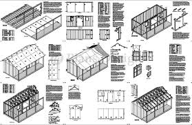 Free House Plans With Material List Storage Building Plans And Material List Plans Diy Free Download