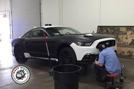 matte black car mustang gt 5 0 deep matte black car wrap wrap bullys