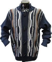 silversilk s fancy zipper mosaic drop needle sweater jacket
