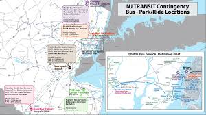 hudson bergen light rail map 8 things you need to about possible nj transit strike nj com