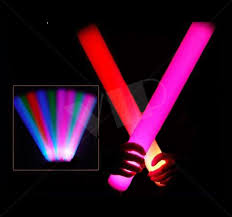 glow in the party supplies led glow party promotional party sticks 16 inch customized yolo
