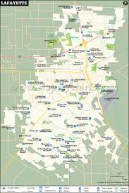 New Orleans Zip Code Map Lafayette Map City Map Of Lafayette Louisiana