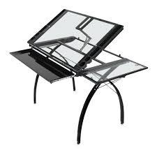Futura Drafting Table Studio Designs Futura Craft Station With Folding Shelf Blick Art