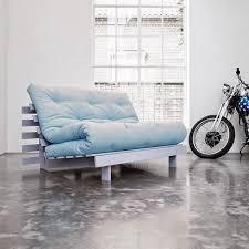 futon canap convertible canapé convertible gris roots futon bleu celeste couchage 140 200cm