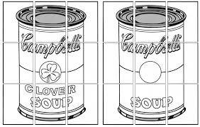 art pop art coloring pages