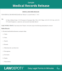 medical records release form cover letter overstuffedpreparing gq
