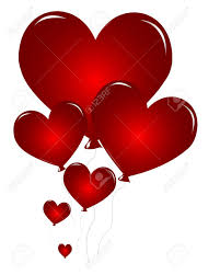 heart shaped balloons heart shaped balloons royalty free cliparts vectors and stock