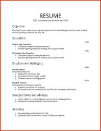 resume format word resume format for word resume template word microsoft